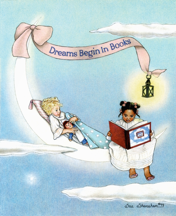 Dreams Begin in Books