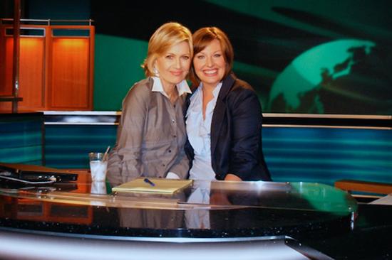 Diane Sawyer and Bridget Shanahan