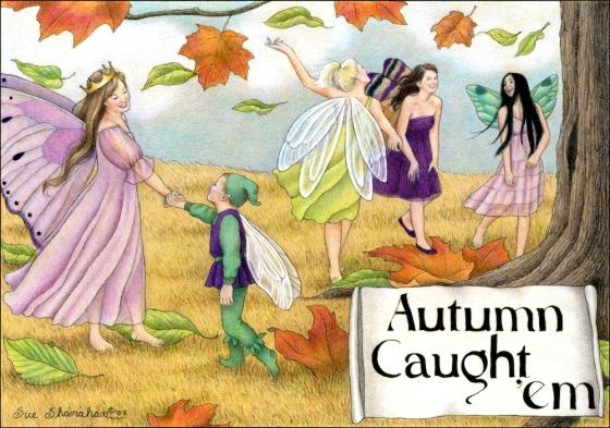 Autumn Caught 'em