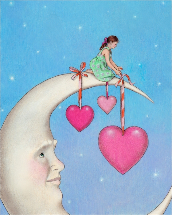 I Heart the Moon © Sue Shanahan. All rights reserved.