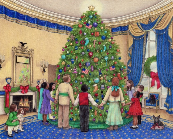 Christmas in the Blue Room
