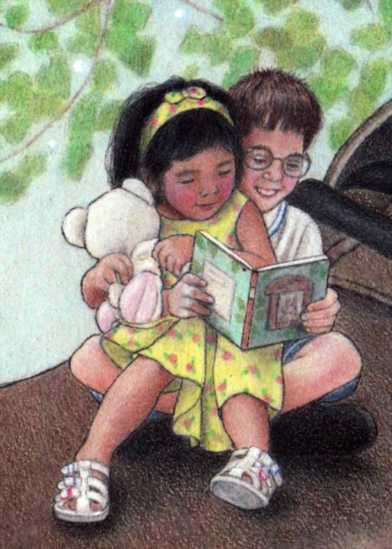 Sharing my the books in my heart with children has been a dream of mine since childhood.
