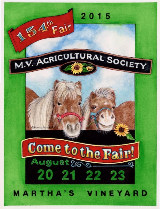 Martha's Vineyard Ag Fair Poster
