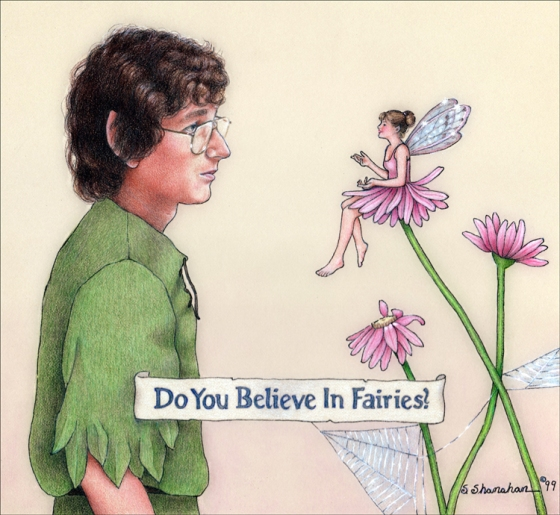Do You Believe in Fairies? black line